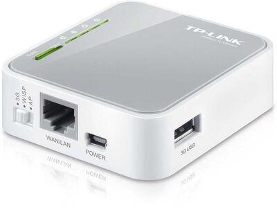TP-LINK 150Mbps Taşınabilir 3G N Router (TL-MR3020)