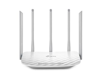 TP-LINK ARCHER C60 4PORT AC1350 DUAL BAND ROUTER