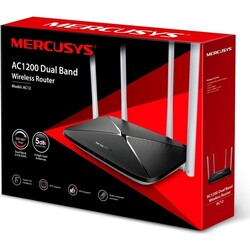 TP-LINK MERCUSYS AC12 1200Mbps DUAL BAND ROUTER - Thumbnail