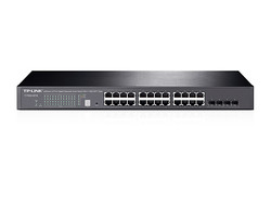 TP-LINK - TP-LINK T1700G-28TQ 24 Port 10/100/1000Mbps 4 SFP Smart Yönetilebilir Switch