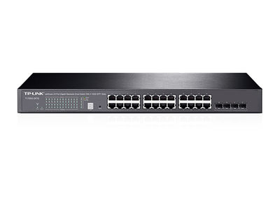TP-LINK T1700G-28TQ 24 Port 10/100/1000Mbps 4 SFP Smart Yönetilebilir Switch