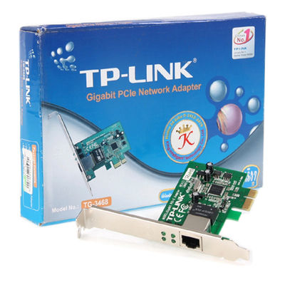 Tp-Link TG-3468 10/100/1000 Mbps 32 bit PCIe Ethernet Kartı