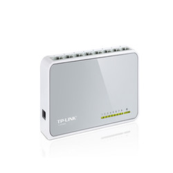 TP-LINK - Tp-Link TL-SF1008D 8 Port 10/100 Switch