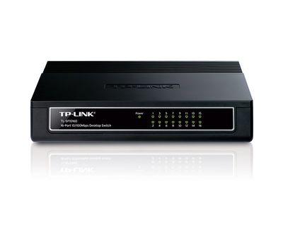 Tp-Link TL-SF1016D 16 Port 10/100 Yönetilemeyen Switch