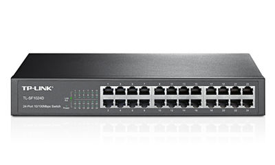 Tp-Link TL-SF1024D 24 Port 10/100 Yönetilemez Switch