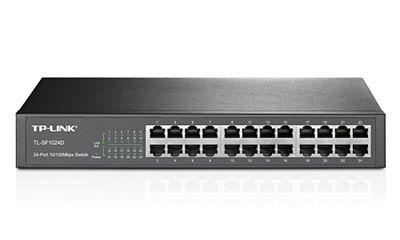 Tp-Link TL-SF1024D 24 Port 10/100 Switch