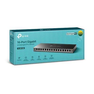 TP-LINK TL-SG116E 16 PORT 10-100-1000 GIGABIT UNMANAGED PRO SWITCH