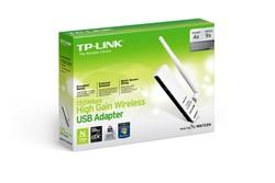 TP-LINK TL-WN722N 150M Yüksek Kazançlı Wireless Lite-N USB Adaptör - Thumbnail