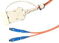 Tradenet - Tradenet TRA-F-MIC-05-SC MIC-ST Fiber Optik Patch Kablo, 5 metre, Multimode