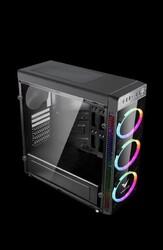 VENTO - VENTO VG05F Gaming 500W 80+ Bronze Siyah Midi Tower ATX Kasa
