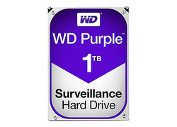 WESTERN DIGITAL - WD 1 TB 5400RPM 64MB SATA3 PURPLE 7/24 (WD10PURZ)