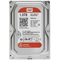 WESTERN DIGITAL - WD 1 TB 5400RPM 64MB SATA3 RED NAS (WD10EFRX)