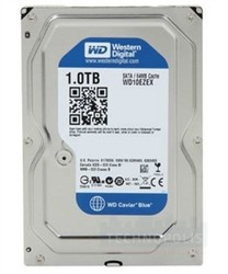 WESTERN DIGITAL - WD 1 TB 7200RPM 64MB SATA3 BLUE DESKTOP (WD10EZEX)