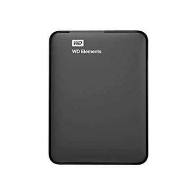 WD 2.5 ELEMENTS 1TB USB 3.0 EXTERNAL HDD SİYAH WDBUZG0010BBK-WESN