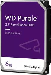 WD - WD 3.5 PURPLE 6TB INTELLIPOWER 64MB SATA3 Güvenlik HDD WD62PURZ (7-24)