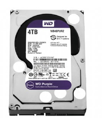 WESTERN DIGITAL - WD 4 TB 5400RPM 64MB SATA3 PURPLE 7/24 (WD40PURZ)