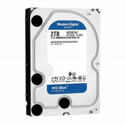 WESTERN DIGITAL - WD BLUE 2 TB 5400RPM 256MB SATA3 DESKTOP (WD20EZAZ)