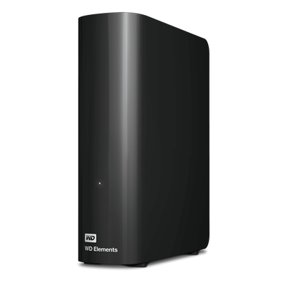 WD ELEMENTS 10TB 3.5 USB 3.0 BLACK WDBWLG0100HBK-EESN