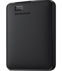 WESTERN DIGITAL - WD ELEMENTS 5TB 2.5 USB 3.0 BLACK WDBU6Y0050BBK-WESN
