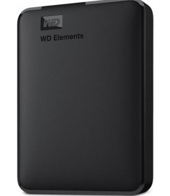 WD ELEMENTS 5TB 2.5 USB 3.0 BLACK WDBU6Y0050BBK-WESN