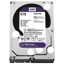 WD - WD Purple 7X24 3,5' 6TB 64MB SATA 6Gb-s ( WD60PURZ )