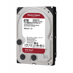 WESTERN DIGITAL - WD RED 3,5 6TB 256mb 7/24-NAS-SERVER (WD60EFAX)