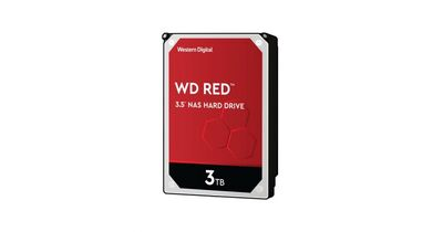 WD Red 3.5 SATA III 6Gb/s 3TB 64MB 7/24 NAS WD30EFAX