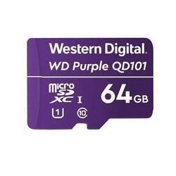 WESTERN DIGITAL - Western Digital 64GB Surveillance microSD Hafıza Kartı