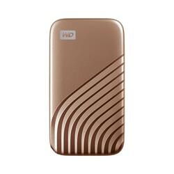 WESTERN DIGITAL - WESTERN DIGITAL (WDBAGF5000AGD-WESN) 500GB 2.5 MY PASSPORT ALTIN RENGİ TAŞINABİLİR SSD