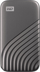 WESTERN DIGITAL - WESTERN DIGITAL (WDBAGF5000AGY-WESN) 500GB 2.5 MY PASSPORT GRI TAŞINABİLİR SSD