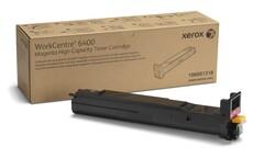 XEROX - Xerox 106R01318 WorkCentre 6400 Yüksek Kapasite Magenta Kırmızı Toner 14.000 Sayfa