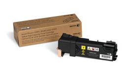 XEROX - Xerox 106R01603 WorkCentre 6500-6505 Yüksek Kapasite Yellow Sarı Toner 2.500 Sayfa