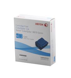 XEROX - Xerox 108R00958 Phaser 8870-8880 Genuine Solid Ink Cyan Mavi 6 Stick