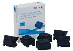 XEROX - Xerox 108R01022 ColorQube 8900 Genuine Solid Ink Cyan Mavi 6 Stick