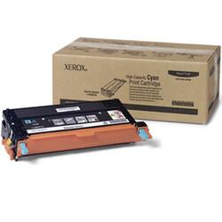 XEROX - Xerox 113R00723 Phaser 6180-6180MFP Yüksek Kapasite Cyan Mavi Toner 6.000 Sayfa