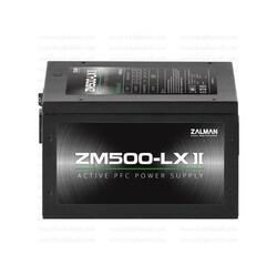 Zalman - ZALMAN ZM500-LXII AKTIF PFC 12CM FAN POWER SUPPLY