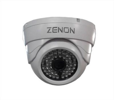 ZENON B7075-A20-F48B36 1/3 CMOS 2 MP (1080P) 3.6mm 48 Led Dome AHD Güvenlik Kamerası