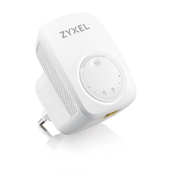 ZYXEL - ZyXEL 433mhz WRE6505 v2 2.4ghz/5ghz 1port Repeater Range Extender Access Point dahili anten Priz Tip