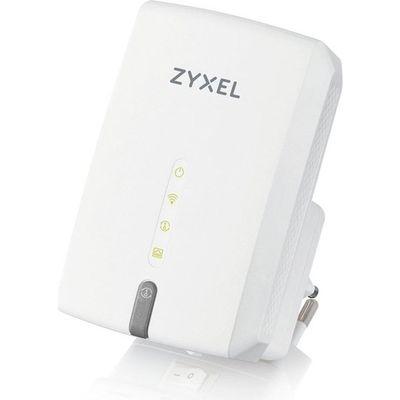ZyXEL 867mbps WRE6602 AC1200 2.4ghz/5ghz 1port Mesafe Genişletici Router Priz Tip