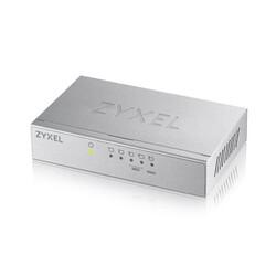 Zyxel - ZYXEL GS-105B 5 PORT 10-100-1000 MBPS METAL KASA SWITCH